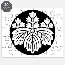 Pointed-leaf paulownia with 5-3 blooms Puzzle