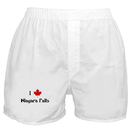 I Love Niagara Falls Boxer Shorts