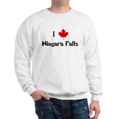 I Love Niagara Falls Sweatshirt