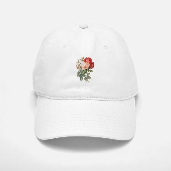Three Roses Baseball Baseball Cap