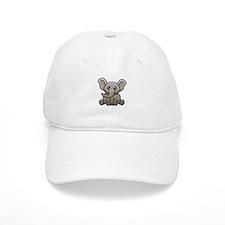 Elephant.png Baseball Cap
