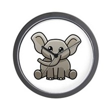 Elephant.png Wall Clock