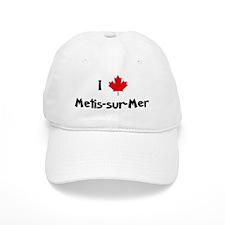 I Love Metis-sur-Mer Baseball Baseball Cap
