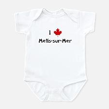 I Love Metis-sur-Mer Infant Bodysuit