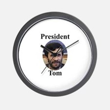 President Tom of Iran Wall Clock