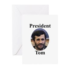 President Tom of Iran Greeting Cards (Pk of 10