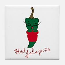 Hot Jalapeno Tile Coaster