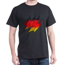 Germany flag ripped T-Shirt