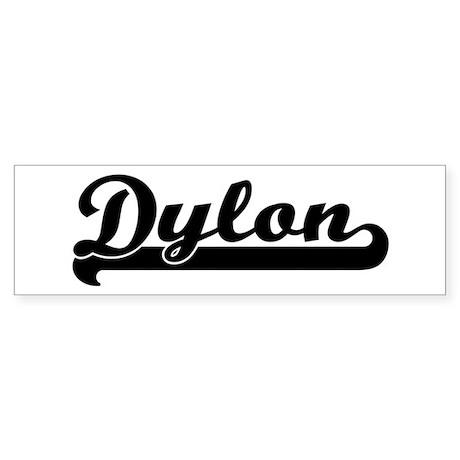 Black jersey: Dylon Bumper Sticker