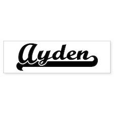 Black jersey: Ayden Bumper Bumper Sticker