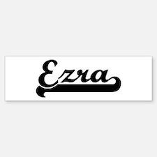 Black jersey: Ezra Bumper Bumper Bumper Sticker