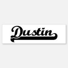 Black jersey: Dustin Bumper Bumper Bumper Sticker