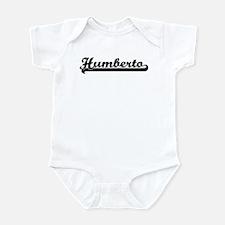 Black jersey: Humberto Infant Bodysuit