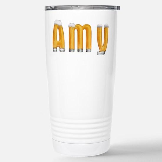 Amy Beer Stainless Steel Travel Mug
