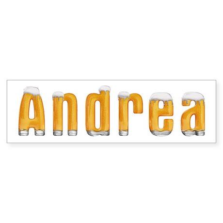Andrea Beer Bumper Sticker