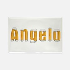 Angelo Beer Rectangle Magnet