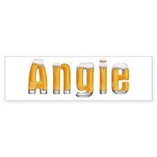 Angie Beer Bumper Bumper Sticker