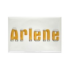Arlene Beer Rectangle Magnet