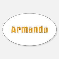 Armando Beer Oval Decal