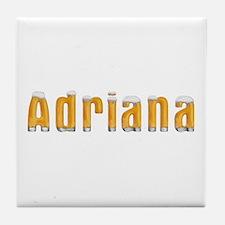 Adriana Beer Tile Coaster