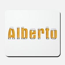 Alberto Beer Mousepad