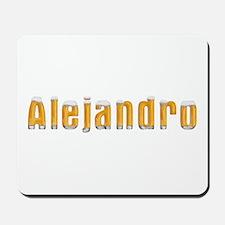 Alejandro Beer Mousepad