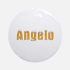 Angelo Beer Round Ornament