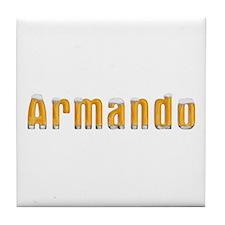 Armando Beer Tile Coaster