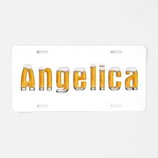 Angelica Beer Aluminum License Plate