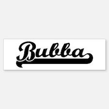 Black jersey: Bubba Bumper Bumper Bumper Sticker