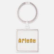 Arlene Beer Square Keychain