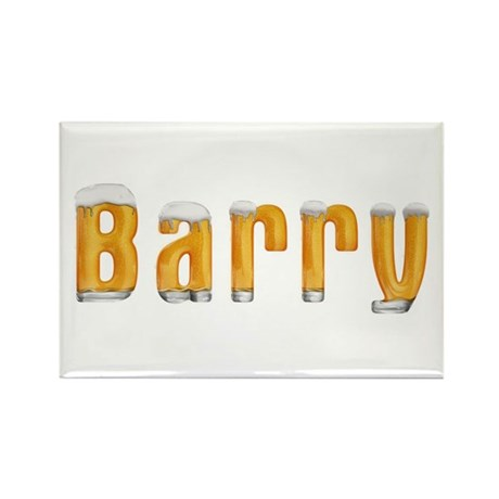 Barry Beer Rectangle Magnet