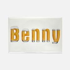 Benny Beer Rectangle Magnet