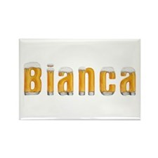 Bianca Beer Rectangle Magnet
