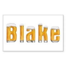 Blake Beer Rectangle Decal