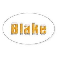 Blake Beer Oval Decal