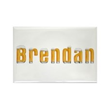 Brendan Beer Rectangle Magnet
