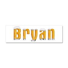 Bryan Beer 10x3 Car Magnet