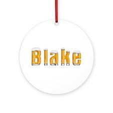 Blake Beer Round Ornament