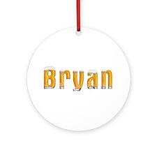Bryan Beer Round Ornament