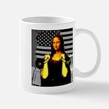 Mona Lisa Hits the Bells Mug