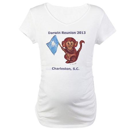 Darwin Reunion 2013 Charleston, SC Maternity T-Shi