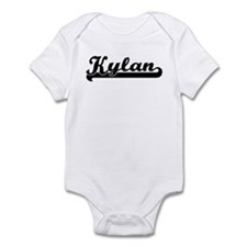 Black jersey: Kylan Infant Bodysuit