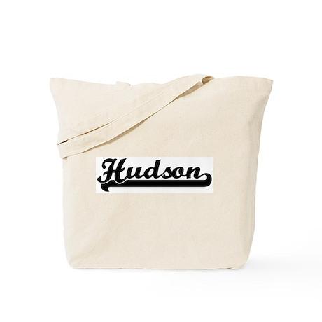 Black jersey: Hudson Tote Bag