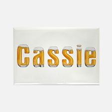 Cassie Beer Rectangle Magnet