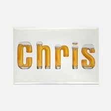 Chris Beer Rectangle Magnet