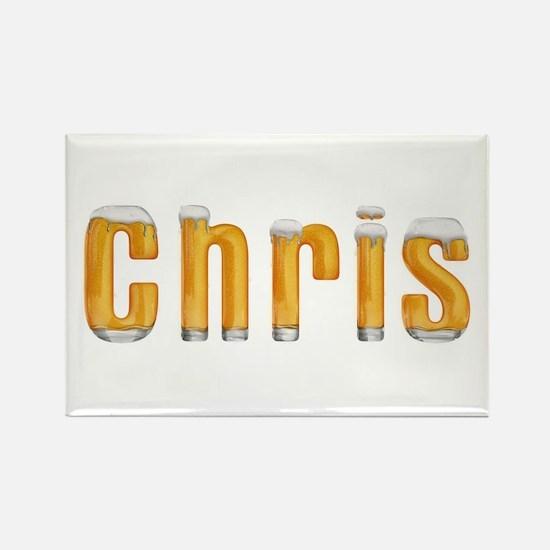 Chris Beer Rectangle Magnet