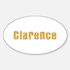 Clarence Beer Oval Decal