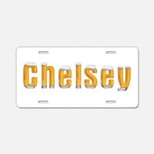 Chelsey Beer Aluminum License Plate