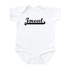 Black jersey: Isreal Infant Bodysuit